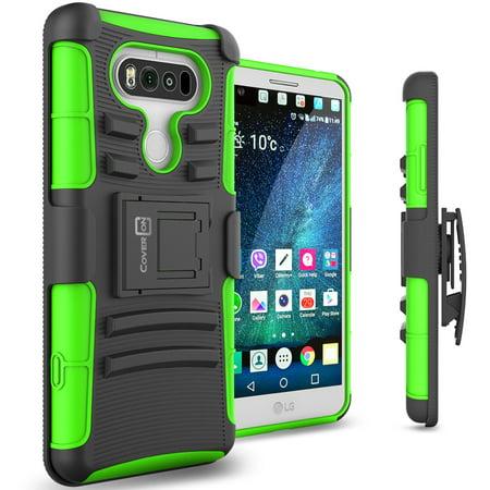 promo code 4ca5d 2b113 CoverON LG V20 Case, Explorer Series Protective Holster Belt Clip Phone  Cover