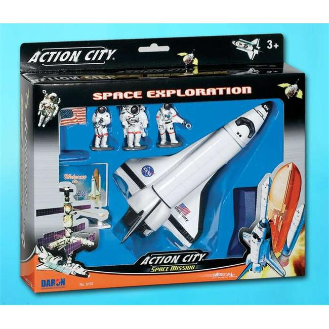 Daron RT9107K Space Shuttle 7 Piece Playset with Kennedy - image 1 of 1