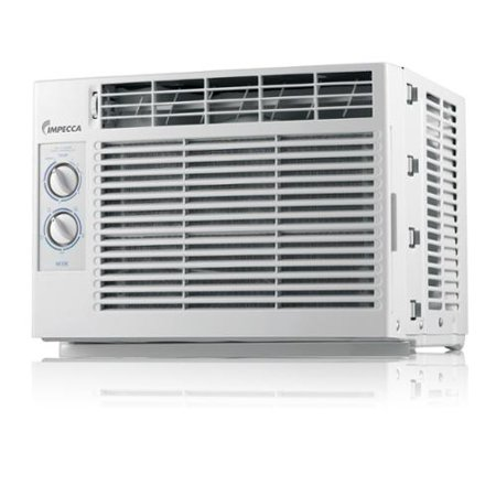 Impecca iwa05cm15 5 050 btu mechanical controlled mini for 15 width window air conditioner