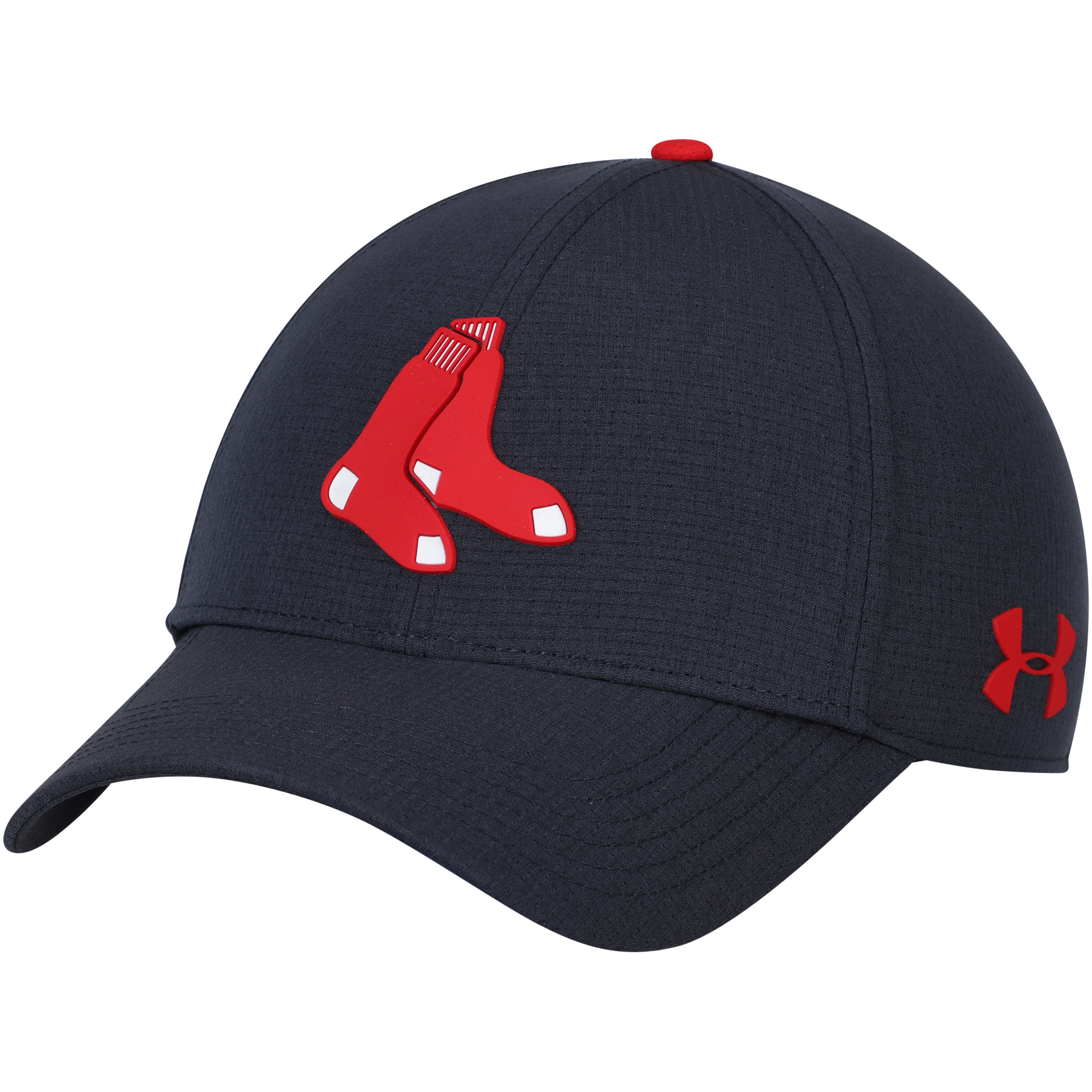 Boston Red Sox Under Armour MLB Driver Cap 2.0 Adjustable Hat - Navy - OSFA