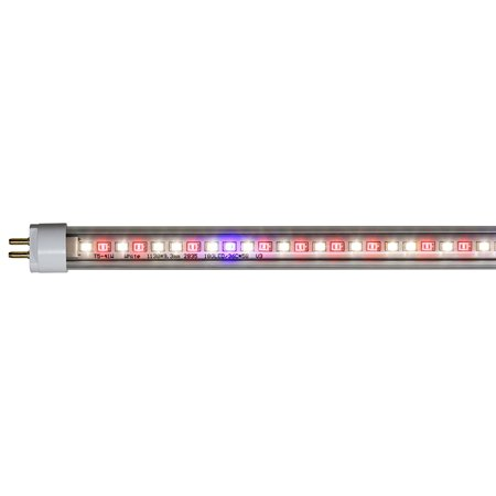 AgroLED iSunlight T5 LED Bulb - Full Spectrum LED Grow Light Bloom Optimized, LED T5's replace any T5 Flourescent Bulb - Just swap them out! By iSunlight AgroLED From
