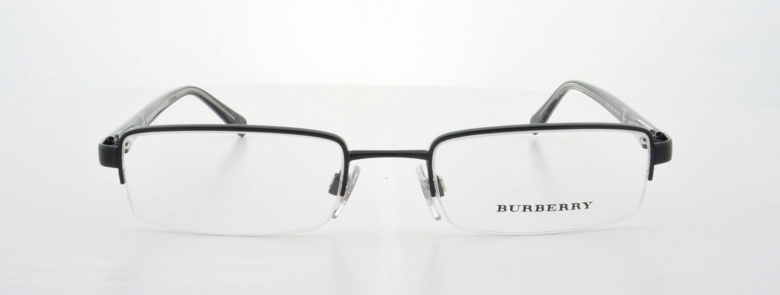 5b49dfc72244 BURBERRY Eyeglasses BE 1012 1001 Black 50MM - Walmart.com