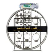 IDEAL 99903-1680-070 Hose Clamp Assortment,Industrial,SS