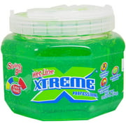Xtreme Professional Wet Line Styling Gel Extra Hold Green, 35.6 oz (Pack of 4)