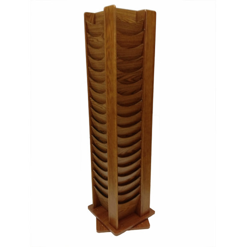Buddy Products 72 Pocket Rotating Display Rack by Sandusky Buddy
