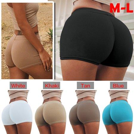 Women's Seamless Compression Yoga Shorts Running Shorts Slim Fit (Seamless Compression Shorts)