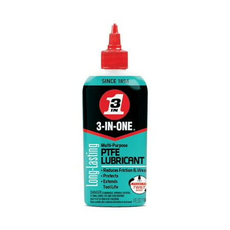3-IN-ONE PTFE Lube Drip Oil, 4