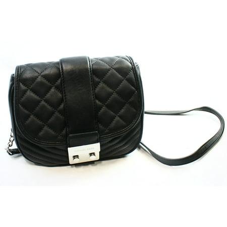 c9ad2ab7b387 Michael Kors - Michael Kors NEW Black Quilted Leather Elisa Medium ...