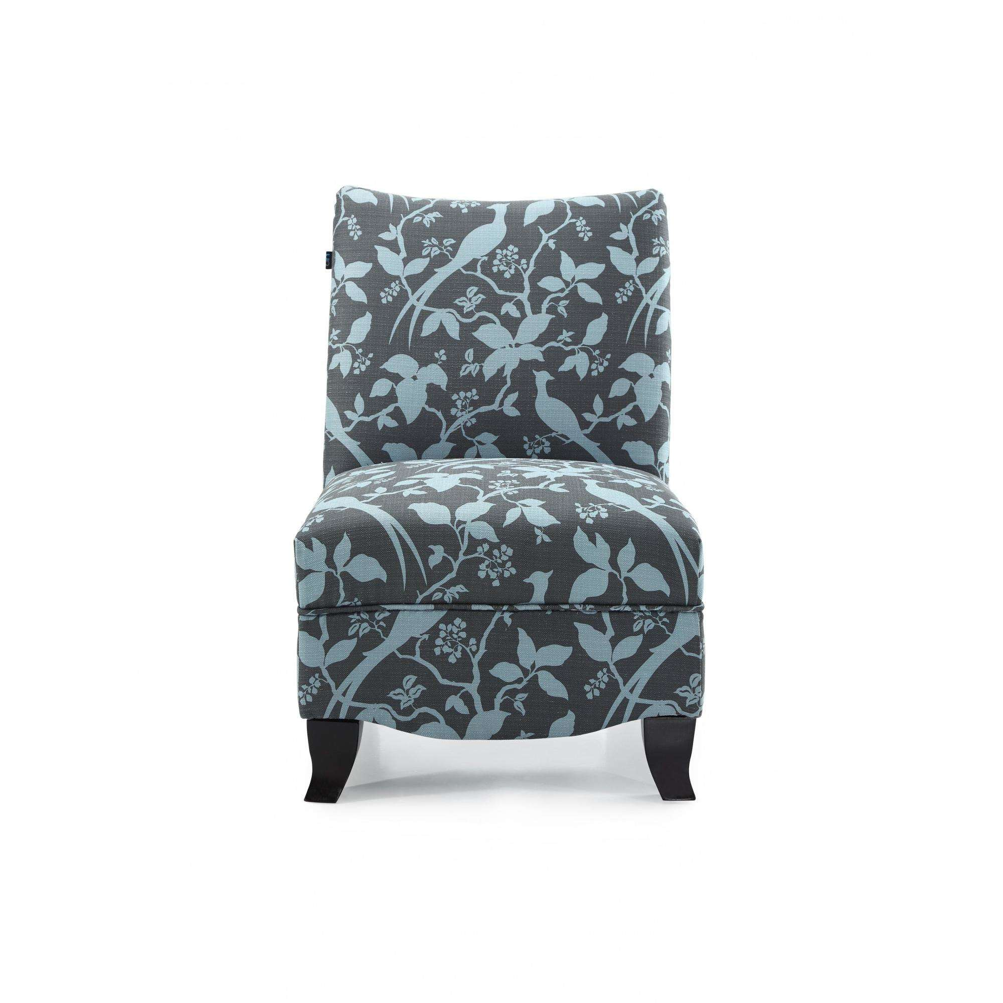 DHI Donovan Bardot Upholstered Accent Chair, Multiple Colors