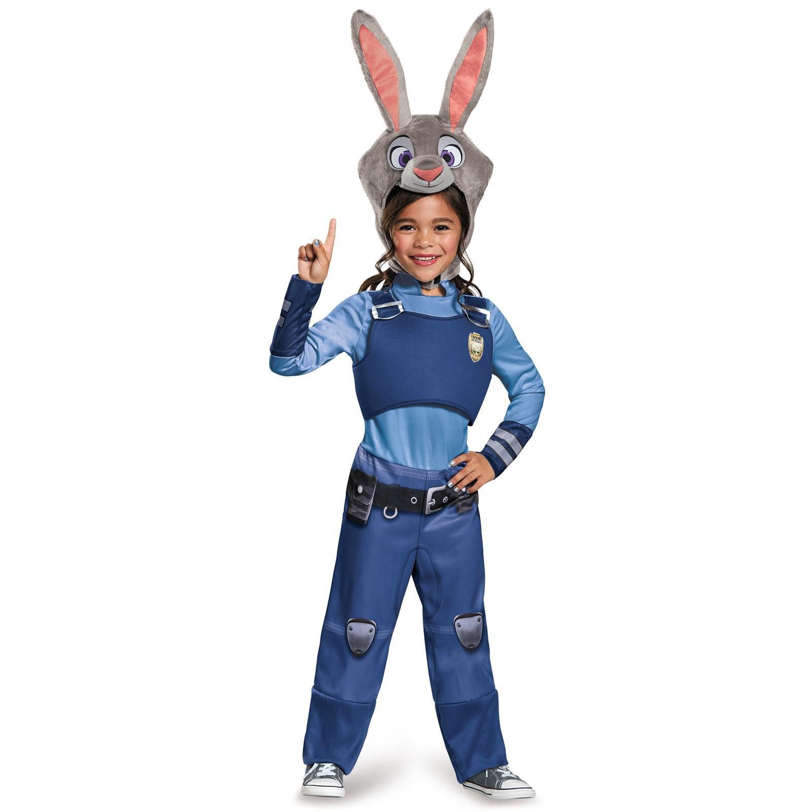 sc 1 st  Walmart.com & Zootopia Judy Hopps Classic Toddler Costume 3-4T - Walmart.com