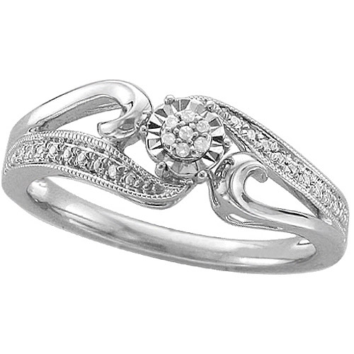 Diamond Accent Sterling Silver Promise Ring