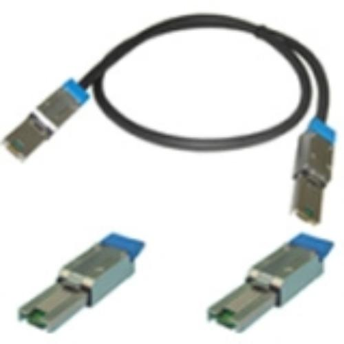 Tandberg Data 1018499 SAS Cable - SAS - 6.56 ft - 1 x SFF-8088 Mini-SAS - 1 x SFF-8088 Mini-SAS