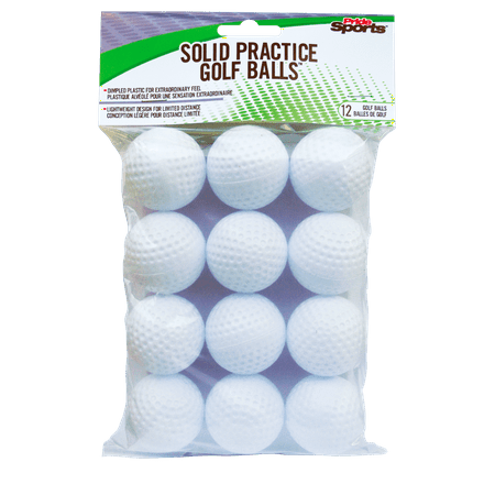Pridesports Practice Ball White 12 ct