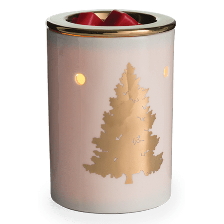 Golden Fir Winter Holiday Illumination Fragrance Warmer by Candle Warmers Etc.
