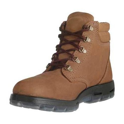 Redback Boots Size 13 Steel Toe Work Boots, Unisex, Light Brown, EE, USACH