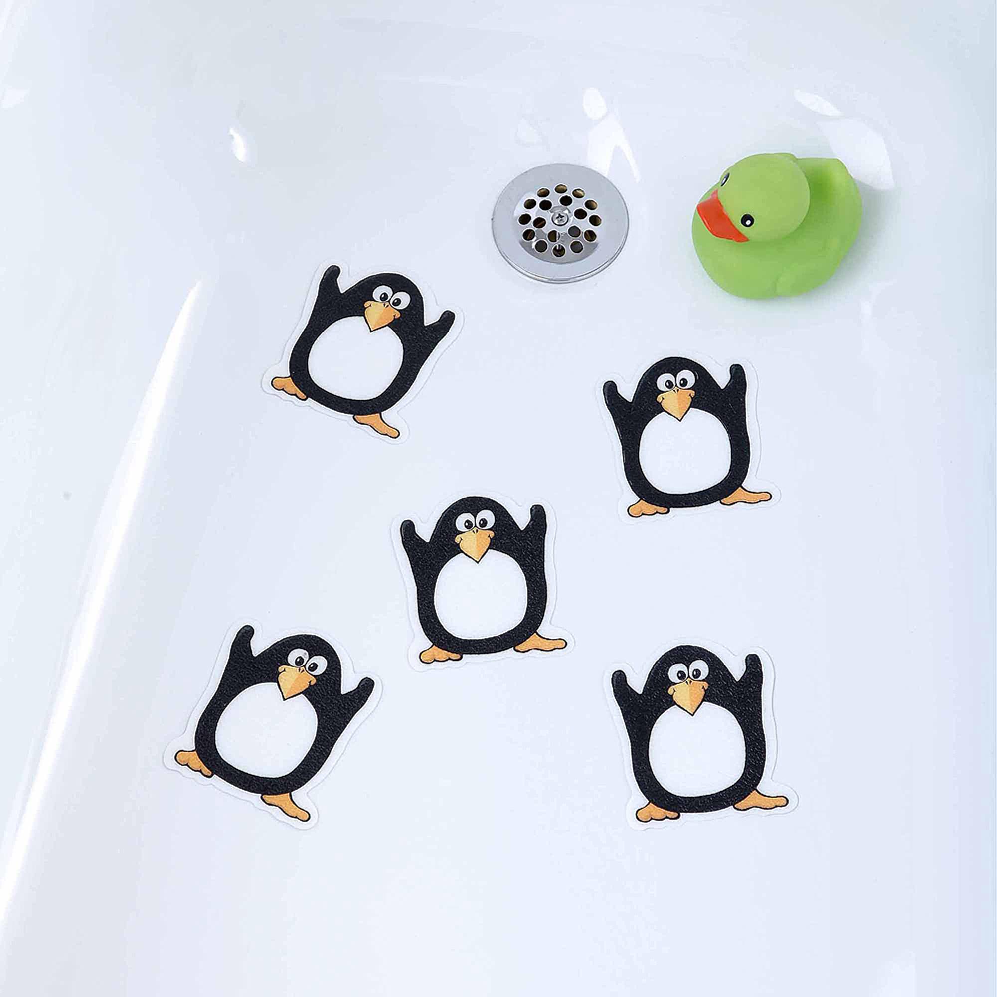 SlipX Solutions Penguin Tub Tattoos