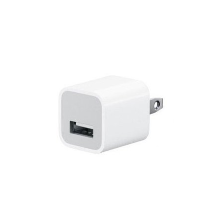 Apple A1385 Travel USB 5V Wall Charger for iPhone/iPad (White) -