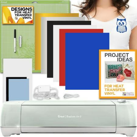 Cricut Explore Air 2 Mint Machine 6 Sheet Heat Transfer