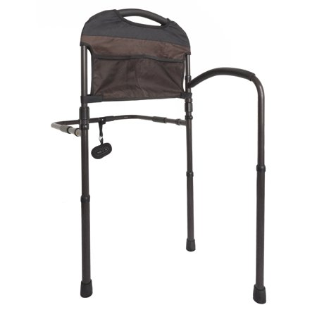 Standers Bed Rail - Stander Mobility Home Bed Rail - Adjustable Swing-out Hand Rail + Pouch