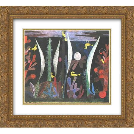 Paul Klee 2x Matted 24x20 Gold Ornate Framed Art Print