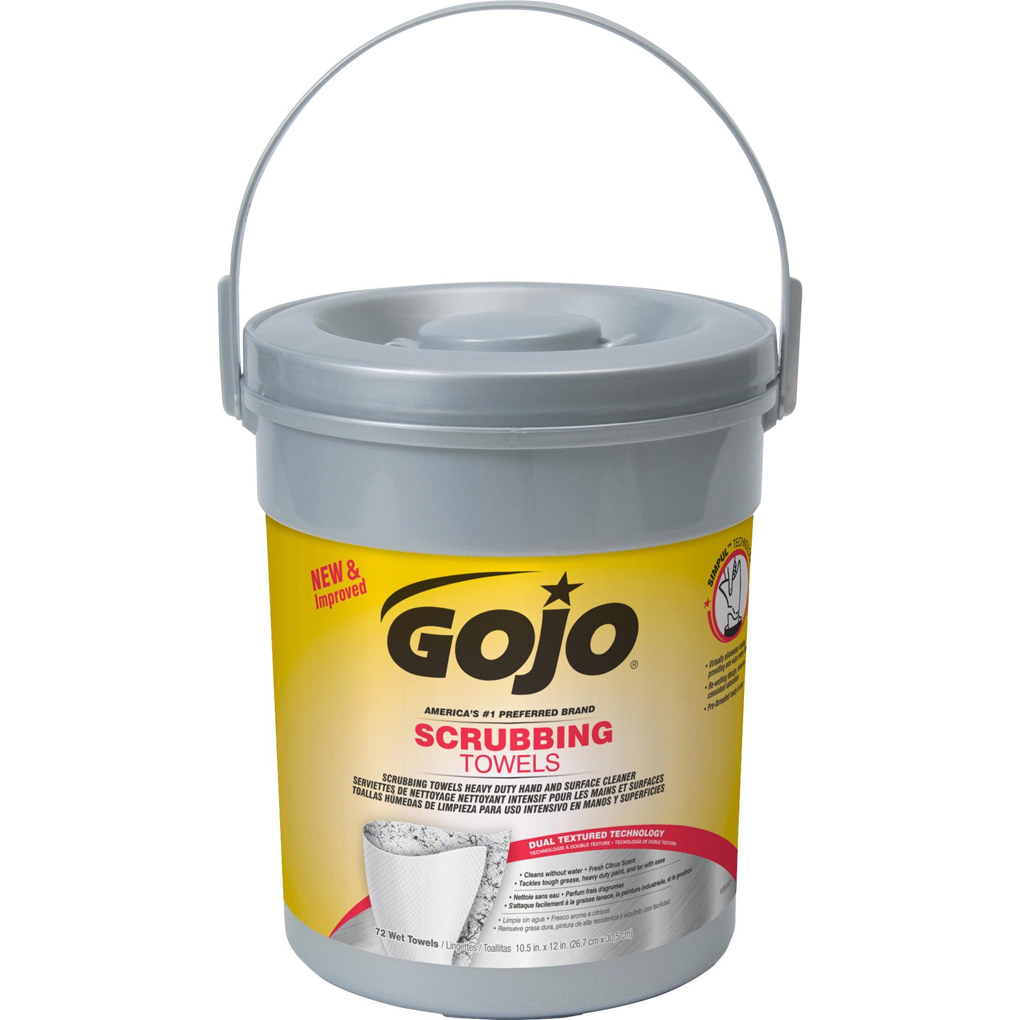 Gojo Goj639606 Scrubbing Wipes 1 Each White Deal