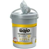 Gojo, GOJ639606, Scrubbing Wipes, 1 Each, White