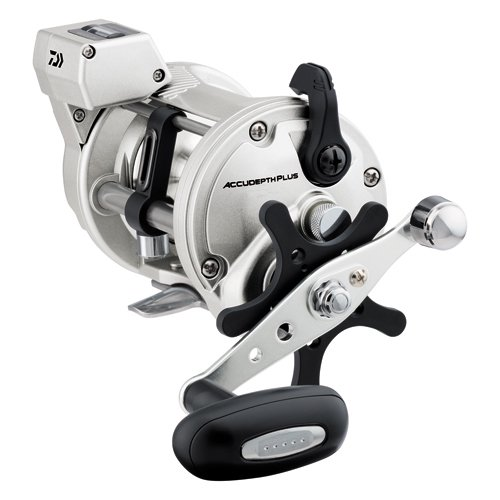Daiwa AccuDepth Plus-B 4.2:1 Line Counter Casting Reel, Right Hand, Power Handle - ADP47LCB