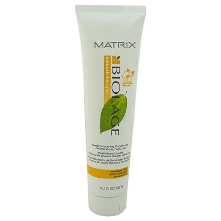 Biolage Smooththerapie Deep Smoothing Conditioner By Matrix - 10.1 Oz Conditioner Biolage Deep Conditioner