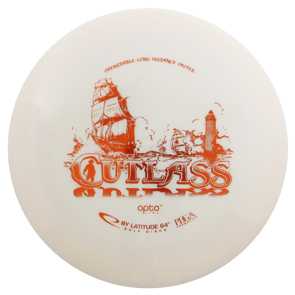 Latitude 64 Opto Cutlass 173-176g Distance Driver Golf Disc [Colors may vary] - 173-176g