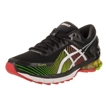 new concept edc35 4ee0f Asics 2016 Men's GEL-Kinsei 6 Running Shoes - T642N.9093 (Black/Silver/Red  - 9.5)