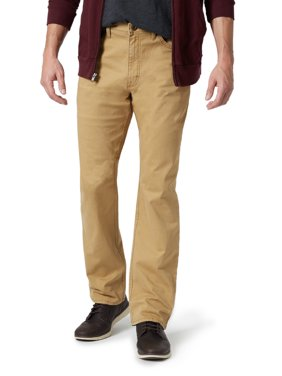 Wrangler Big Men's Straight 5 Pocket Stretch Twill Pant