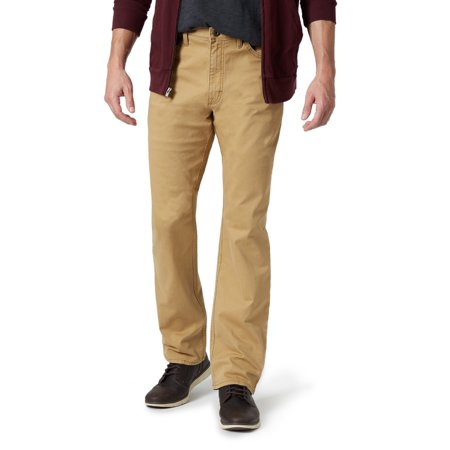 Wrangler Big Men's Straight 5 Pocket Stretch Twill Pant