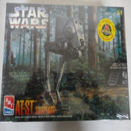 Star Wars AT-ST Snapfast Model Kit AMT - Walmart com