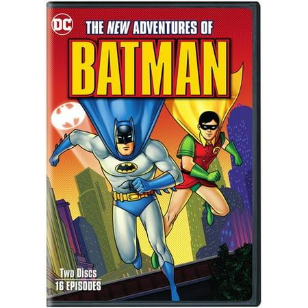 The New Adventures of Batman: Complete Series (DVD) (Adam West Batman Tv Series)