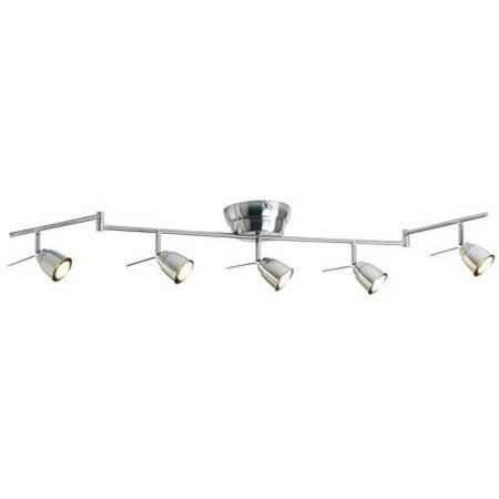 Ikea Ceiling track, 5-spots, nickel plated 10210.20817.184 - Ikea Halloween Spot