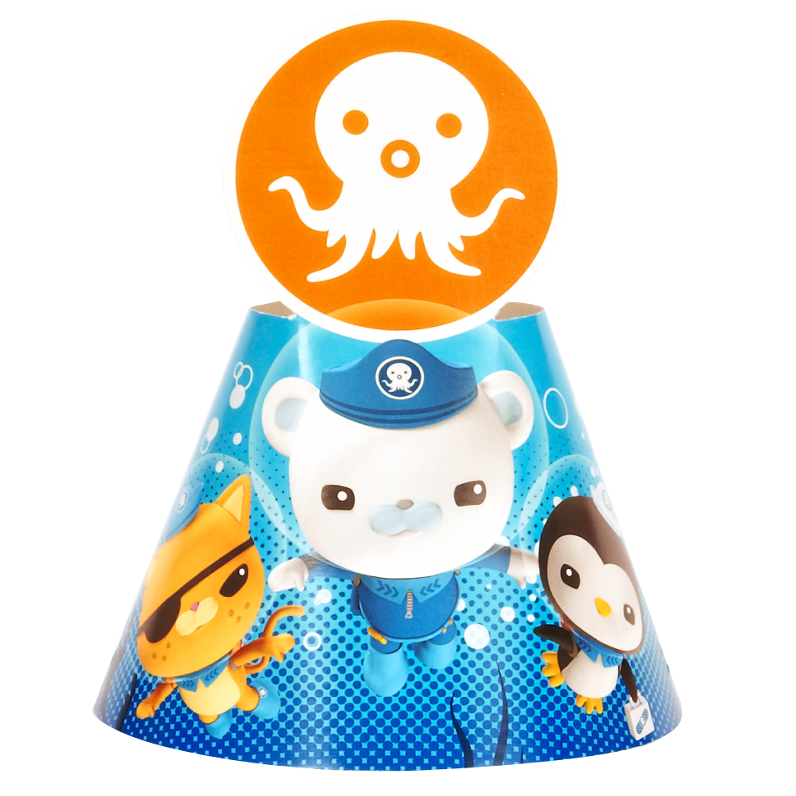 Octonauts Party Supplies 16 Pack Cone Party Hats