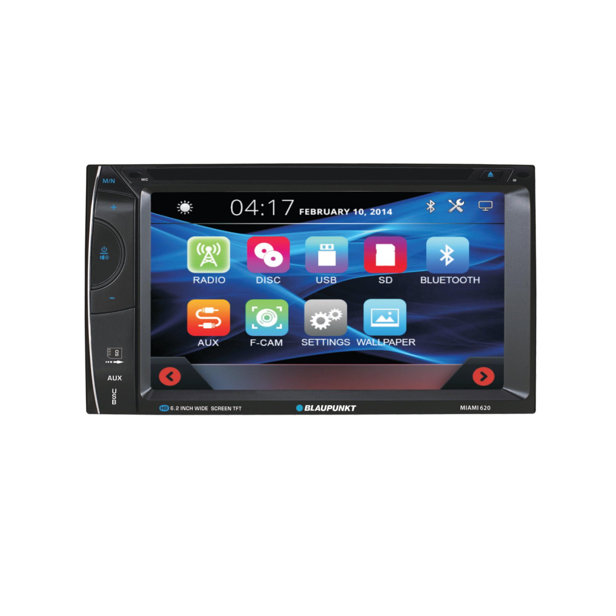 "6.2"" In-Dash Touchscreen DVD Receiver (MIAMI620)"