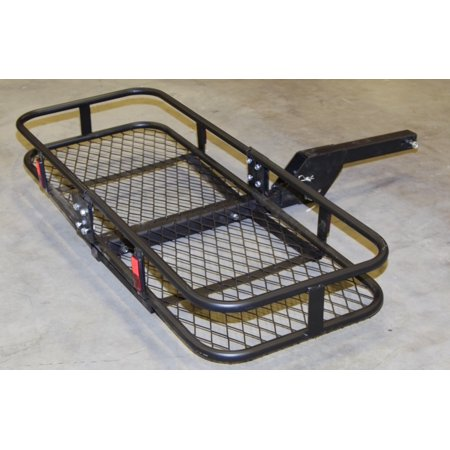Truck Receiver Hitch Mounted Cargo Carrier Rack Traile Luggage