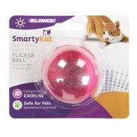 SmartyKat FlickerBall Electronic Light Cat Toy