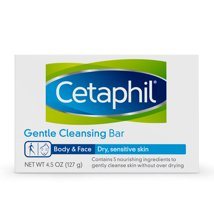 Facial Cleanser: Cetaphil Gentle Cleansing Bar
