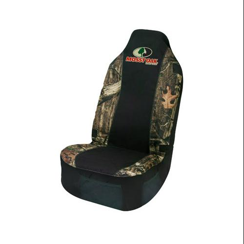 Signature Products Group MSC4409 Car Seat Cover, With Mesh Pockets, Camouflage Polyester, Universal Size