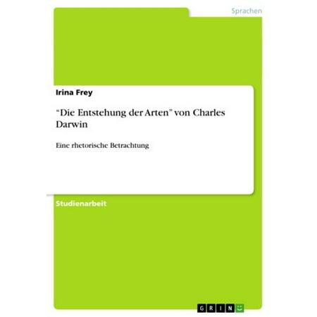 'Die Entstehung der Arten' von Charles Darwin - eBook (Arten Von Brillen-rahmen Für Männer)