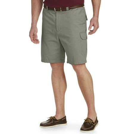 5d564c49bb Harbor Bay - Men's Big & Tall Harbor Bay Continuous Comfort Twill Cargo  Shorts - Walmart.com