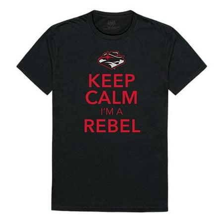 W Republic Apparel 523-137-E27-03 University of Nevada Las Vegas Keep Calm Mens Tee, Black - Large - image 1 de 1