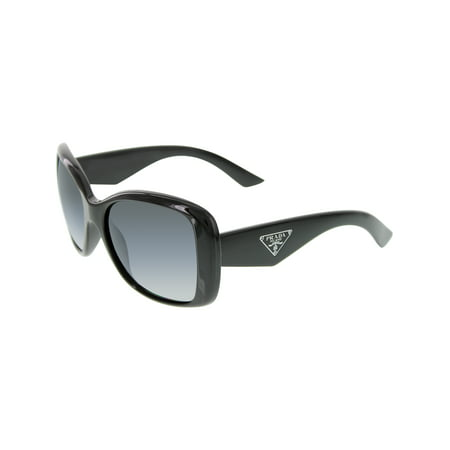 Prada Women's Polarized PR32PS-1AB5W1-57 Black Butterfly