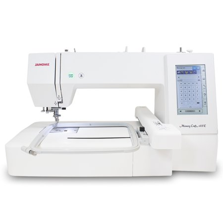 Janome Memory Craft 400E Embroidery Machine Refurbished (Janome Mb4 Embroidery Machine)