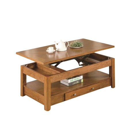 Coaster Occasional Group Lift Top Coffee Table In Oak