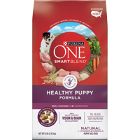 Purina ONE Natural Dry Puppy Food SmartBlend Healthy Puppy Formula - 8 lb. Bag