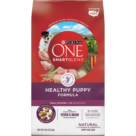 Purina ONE Natural Dry Puppy Food; SmartBlend Healthy Puppy Formula - 8 lb.