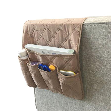 Waterproof Pongee Armchair Sofa Chair Storage Bag Holder Organizer Hanging Bag